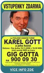 Karel GOTT (10. 11. 2006)