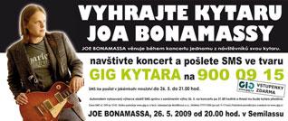 Soutěž o kytaru JOA BONAMASSY
