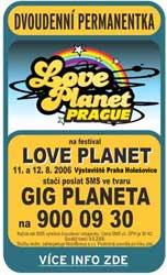 Festival LOVE PLANET (11. 8. 2006)