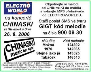 Chinaski - melodie do mobilu